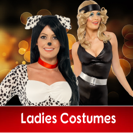 Ladies Fun Fancy Dress Costumes