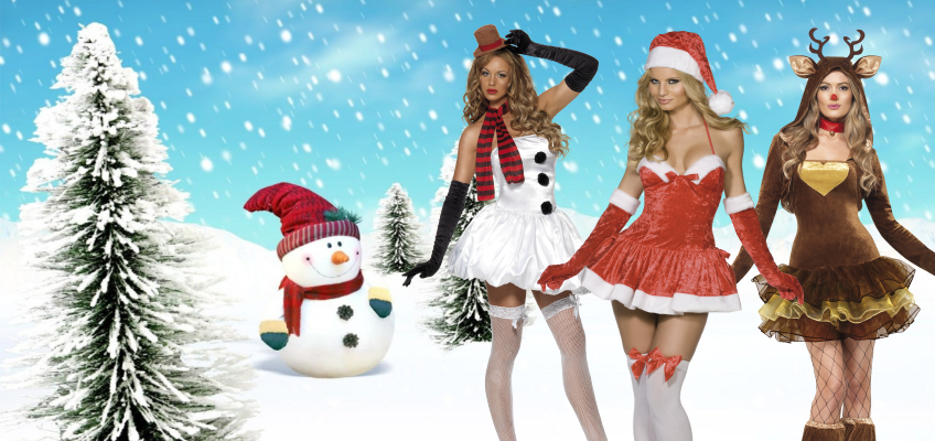 Ladies Sexy Christmas Costumes