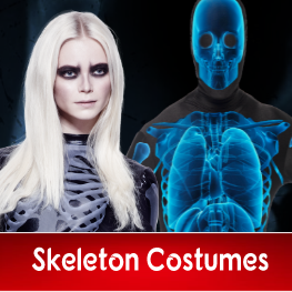 Adult Skeleton Costumes for Halloween