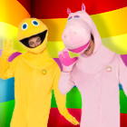 Rainbow Fancy Dress Costumes