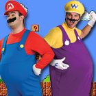 Super Mario Bros Fancy Dress