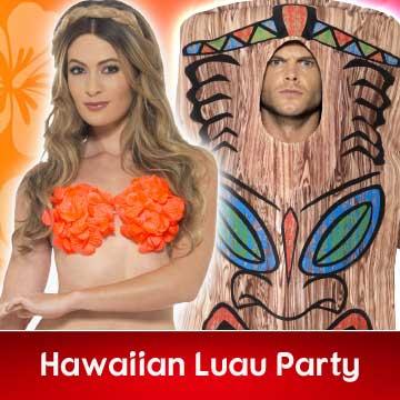 Hawaiian Luau Fancy Dress