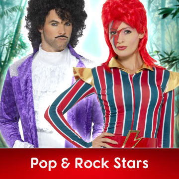Pop and Rock Star Fancy Dress