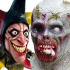 Ghoulish Latex Masks