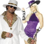 His and Hers Pimp Costumes