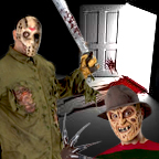 Jason Friday 13th and Freddie