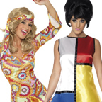 Ladies 60s Costumes