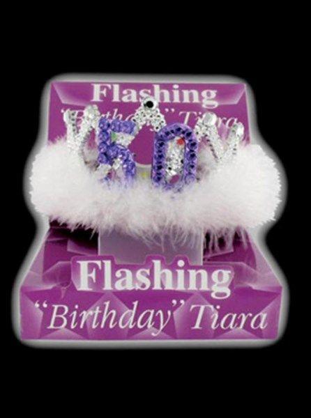 50th Birthday Flashing Tiara