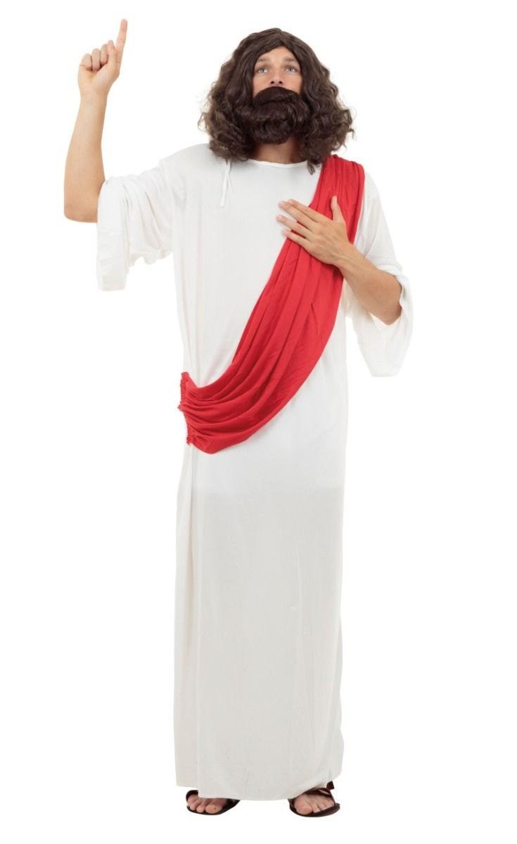 Mens Jesus of Nazareth Halloween Costume