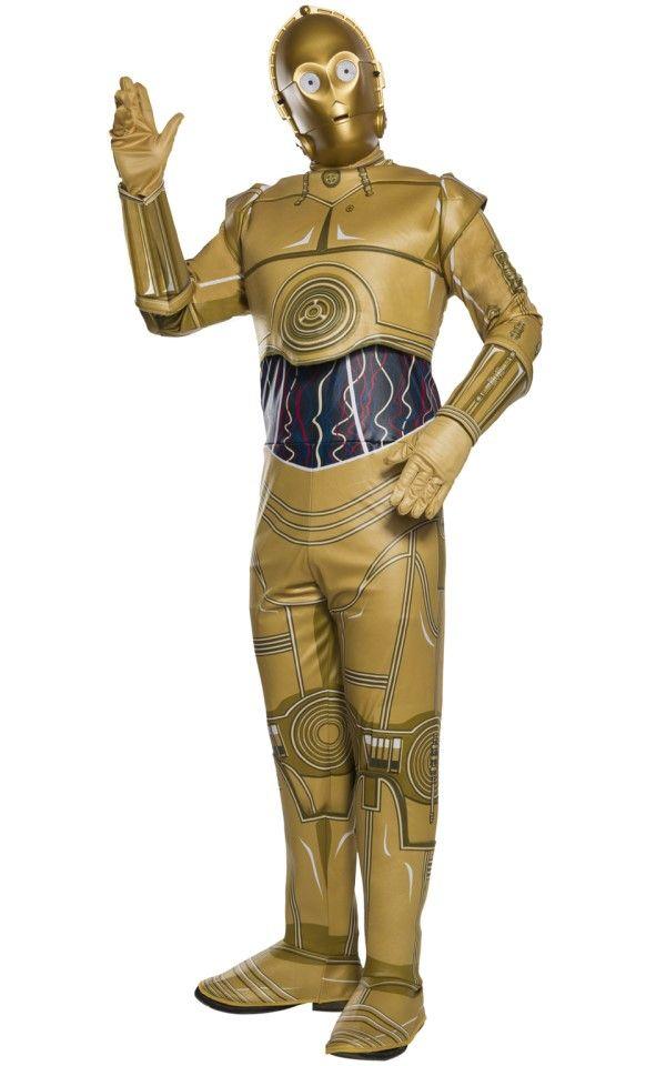 Luke Skywalker Disney Star Wars Men/'s Fancy Dress Costume