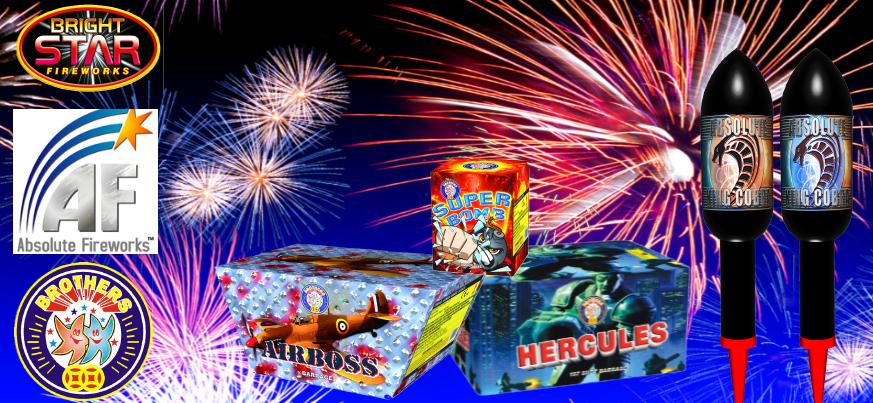 Fireworks Banner Slider