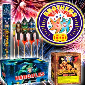 Fireworks 3 Banners