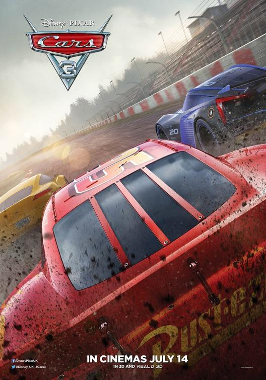 Disney's Cars 3 Movie Release