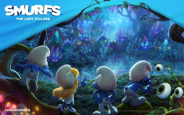 Smurfs: The Lost Village Movie Release 2017