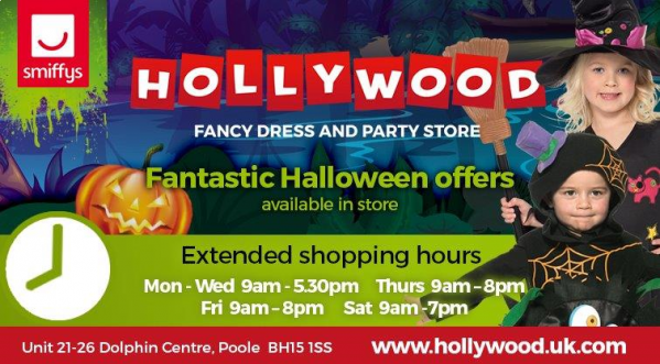 Halloween Opening Hours