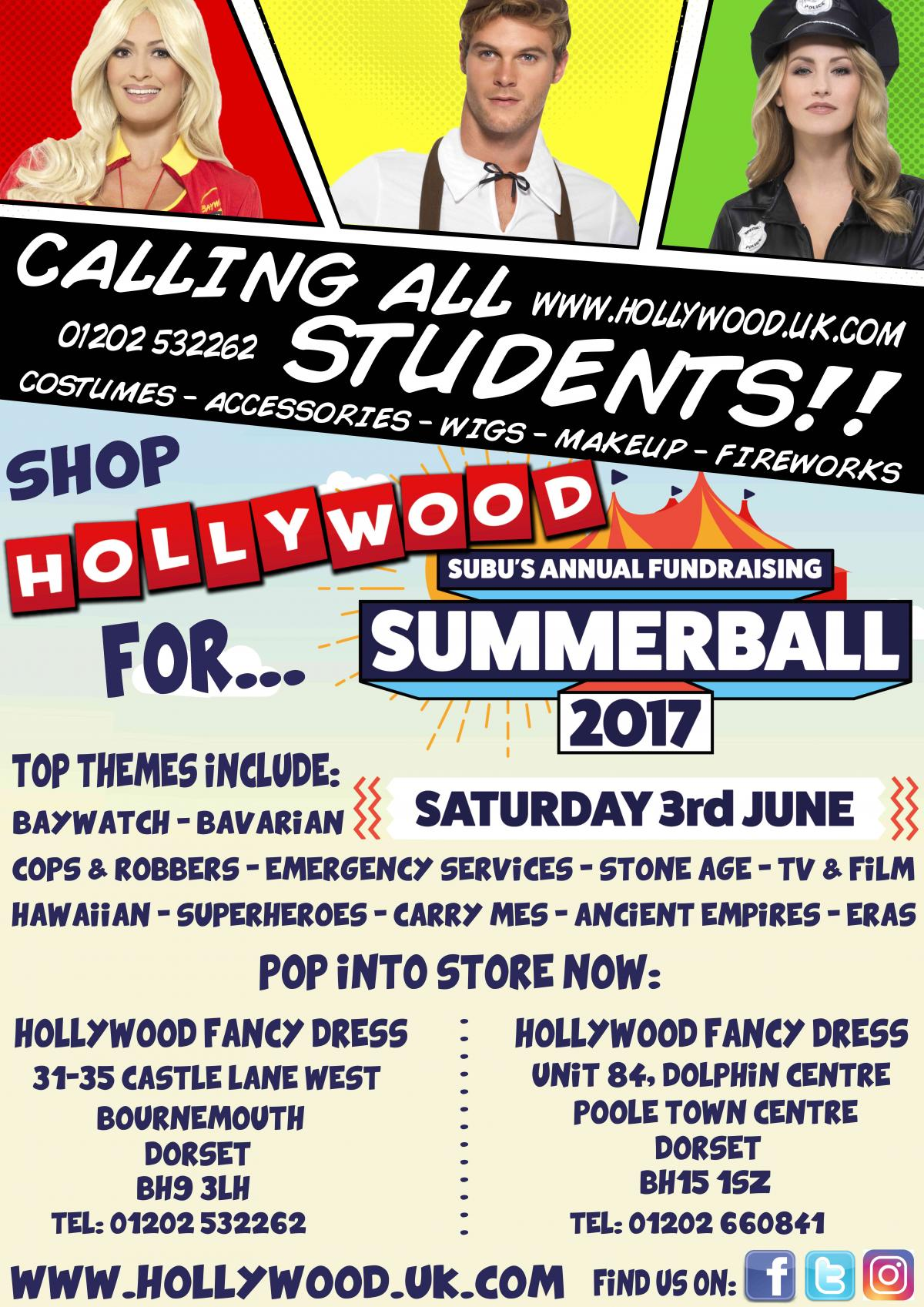 What are you wearing to SUBU Summer Ball 2017?