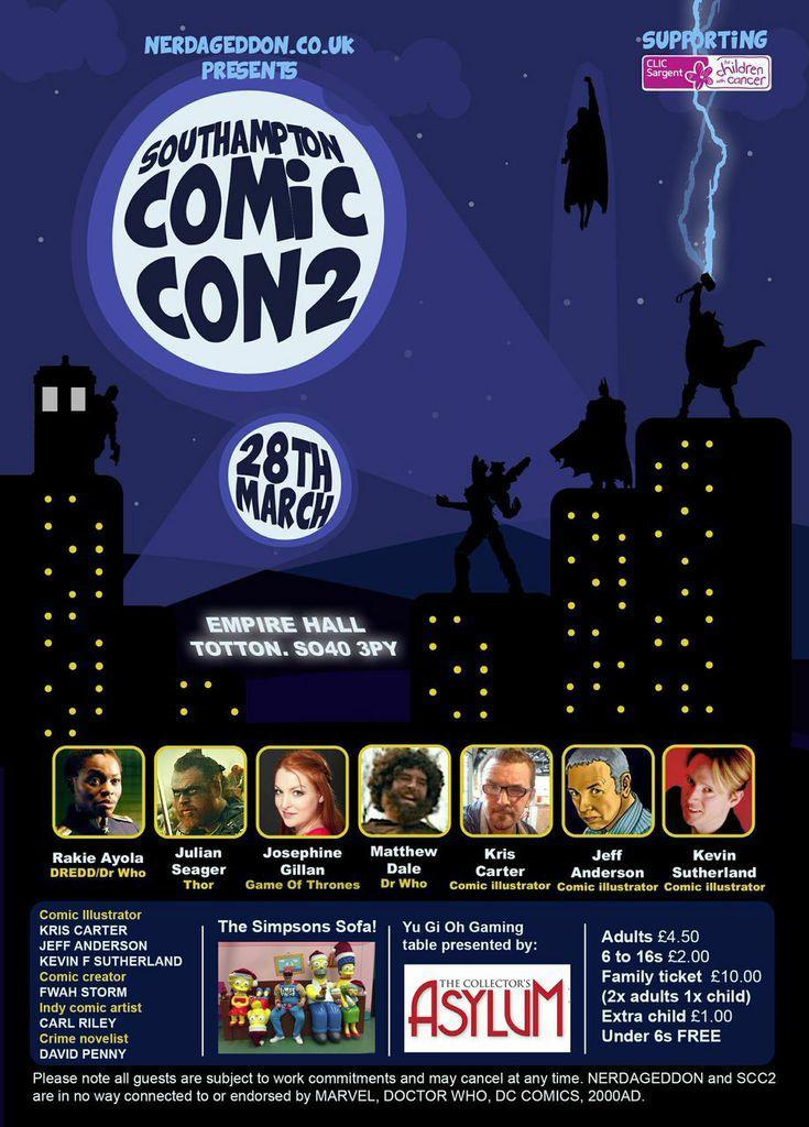 Southampton Comic Con 2