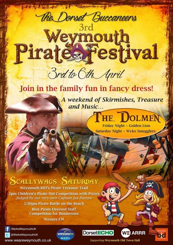 The 3rd Weymouth Pirate Festival