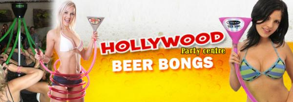 Beer Bongs on sale now at Hollywood
