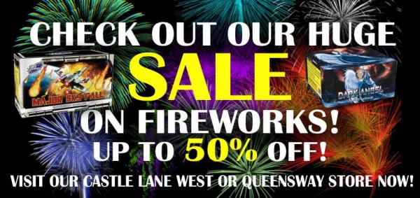 Big Firework Sale - Up to 50% Off