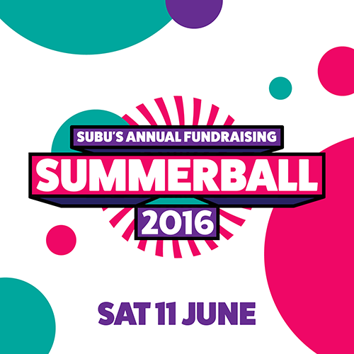 SUBU Summer Ball 2016!