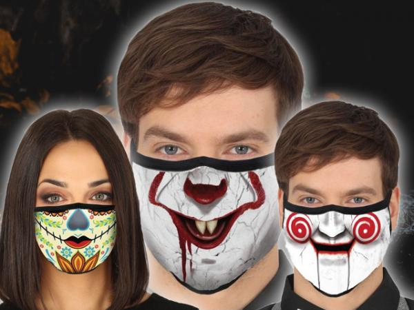 Stay safe with Halloween inspired Facemasks!