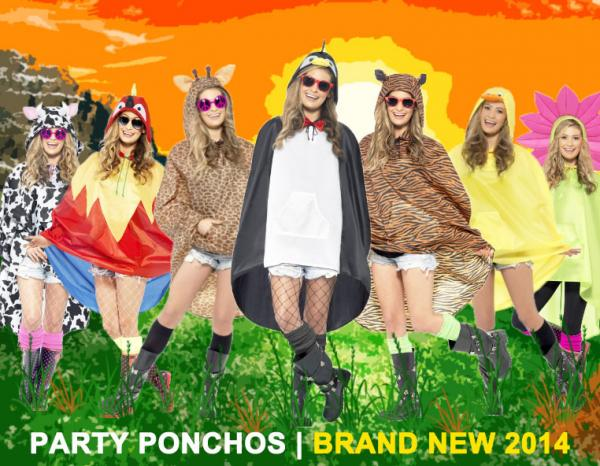 PARTY PONCHOS - BRAND NEW COLLECTION!