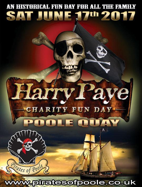 Harry Paye Pirate Day 2017