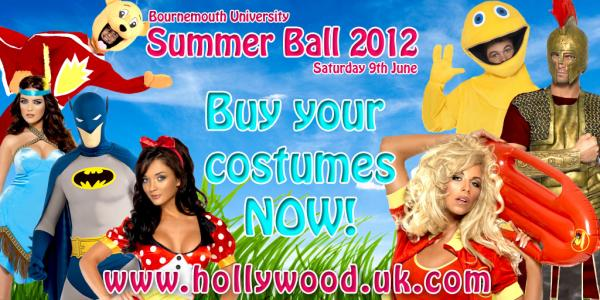 Bournemouth University Student Ball 2012