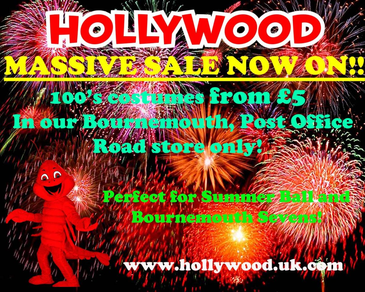 Massive Sale at Hollywood Party Centre Now On!