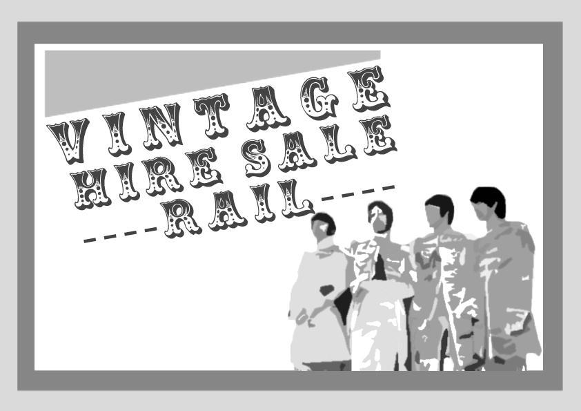 New Vintage Hire Costumes Sale Rail!
