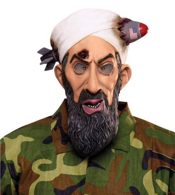 Not for the politically correct: our Most Wanted Bin Laden Mask!