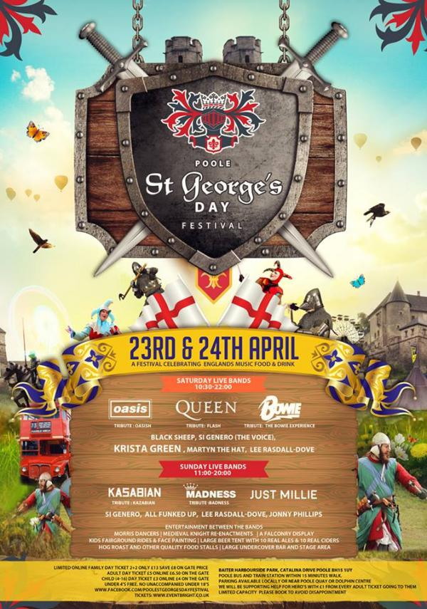 St George's Day Festival Poole!