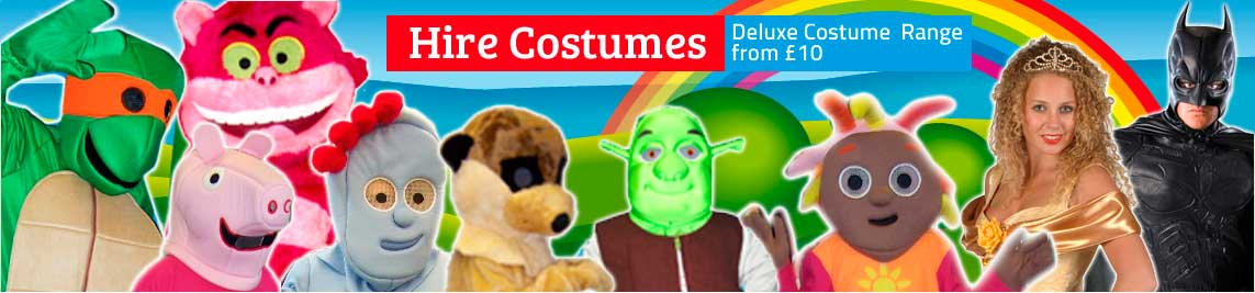 Fancy Dress Costumes to hire