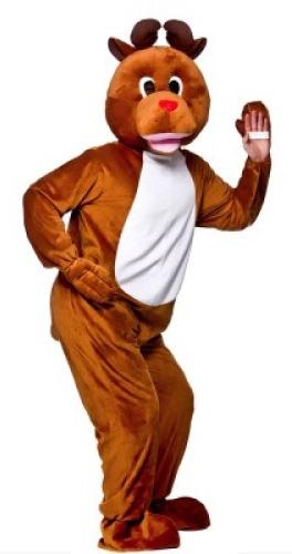 Festive Reindeer Mascot Costume