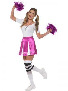 Pink Cheerleader Kit - Skool Disco