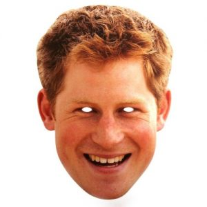 Royal Wedding - Prince Harry Mask