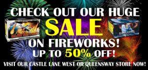 Firework Sale Banner