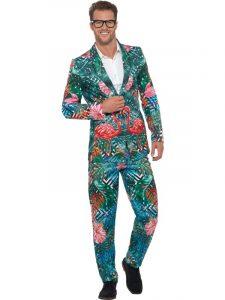 Flamingo Fancy Dress Suit