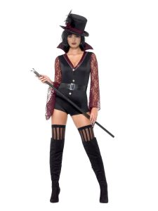 Fever Vampire Costume - Top Outfit