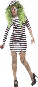 Jailbird Costume - Zombie