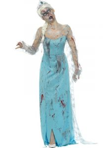 Froze to Death Costume - Zombie