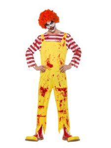 Kreepy Clown Costume - Circus