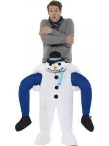 Snowman Piggyback - Christmas