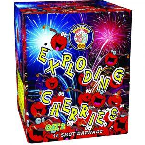 Firework - Exploding Cherries Barrage