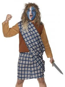 Burns Night - Brave Scotsman Costume