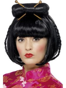 Oriental Lady Wig - Chinese New Year
