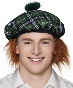 Tam O Shanter Green Hat - Burns Night