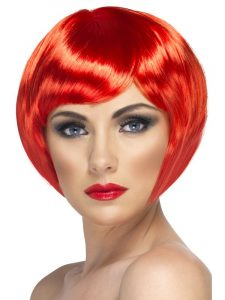 Comic Relief - Red Babe Wig