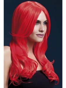 Comic Relief - Red Khloe Wig